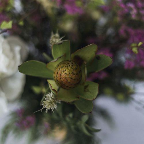 Centro flores preservadas LIKEN Estudio Floral