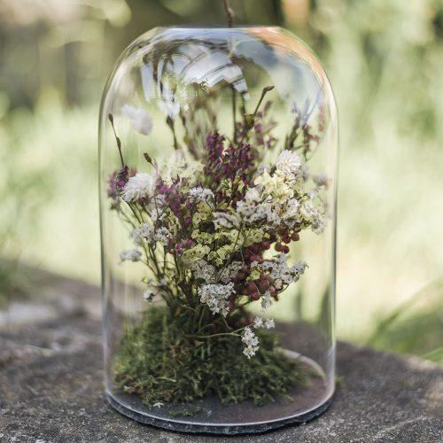 Cúpula cristal LIKEN Estudio Floral