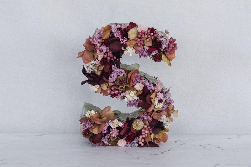 Letras LIKEN Estudio Floral